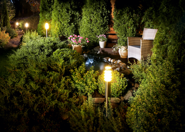 Landscape Lighting Maintenance Tips for Fall